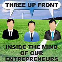 Three Up Front Event – Talking Business, Buy to Let & Life