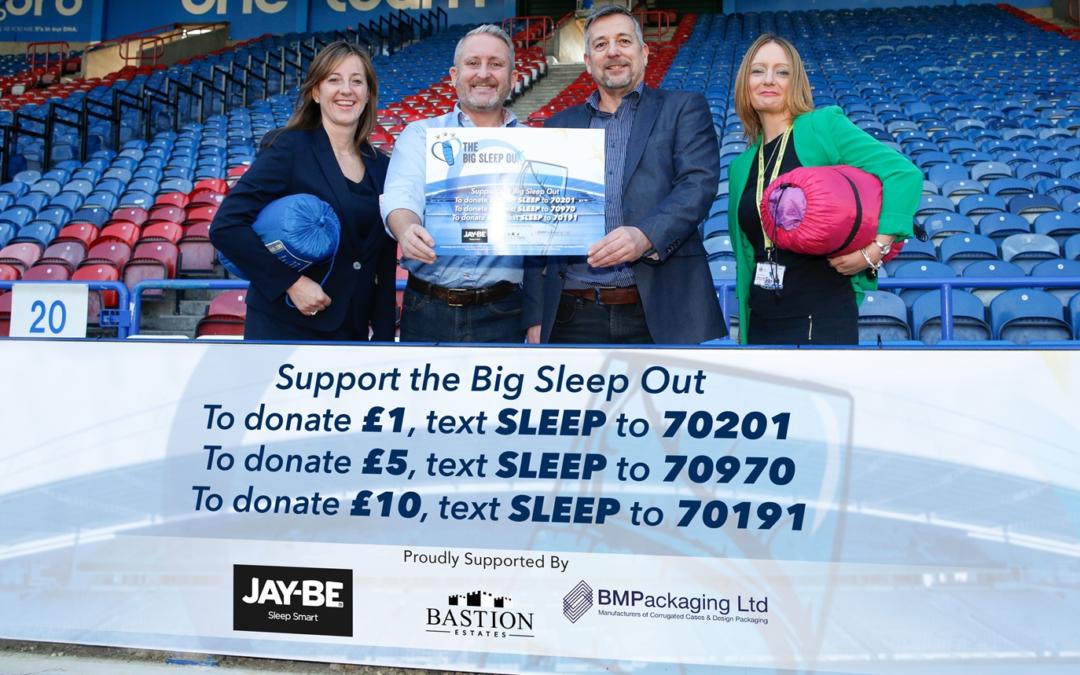 Bastion Sponsors The Big Sleep Out